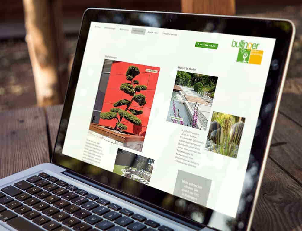 Bullinger Website 04 Werbeagentur Augsburg Gerstmayer