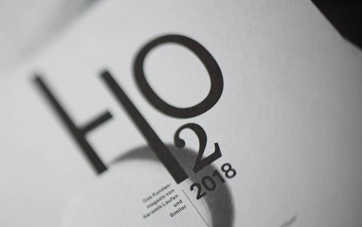 Logo-Magazingestaltung